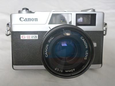 佳能 Canon G-III  QL17