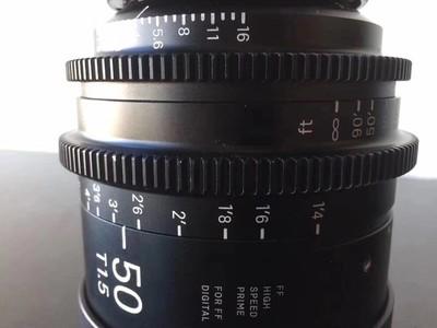 出售二手适马全画幅50定一颗,t1.5大光孔,需要的随时联系