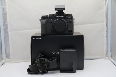 95新二手Fujifilm富士 X-T2 单机 XT2微单相机回收 M53277京