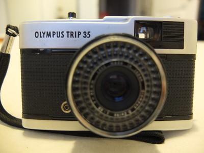 奥林巴斯 TRIP 35 机械相机 复古旁轴 带40/2.8镜头