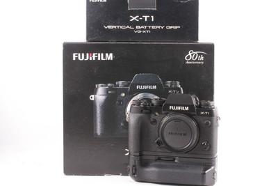 95/富士X-T1+VG-XT1原装手柄 微单相机 成色新 ( 全套包装 )