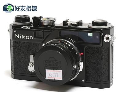 Nikon/尼康 SP 2005黑漆复刻纪念版 连3.5cm F/1.8镜头 *98新*