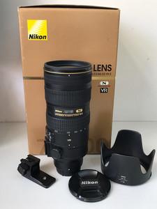尼康尼克尔 70-200mm f/2.8G ED VR II 大竹炮防抖镜头