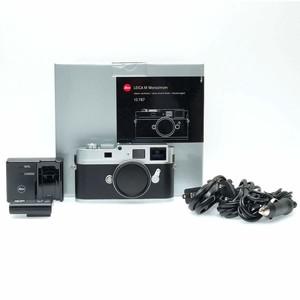 (全新CCD)徕卡 Leica Monochrom MM黑白机 银色(徕卡2年保修)