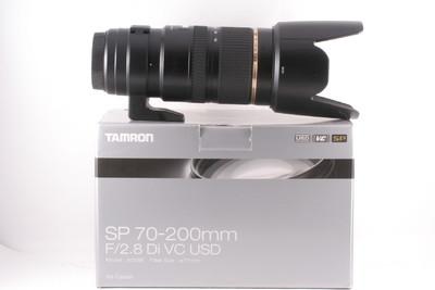 腾龙 SP 70-200mm F/2.8 Di VC USD 成色极新(全套包装 )佳能口