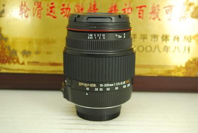 尼能口 适马 18-200 F3.5-6.3 II OS HSM 单反镜头二代防抖挂机