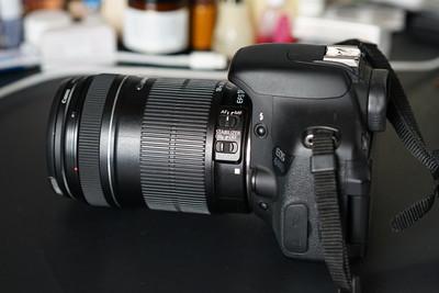 佳能 600D+18-135镜头