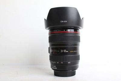 94新二手Canon佳能 24-105/4 L IS USM 防抖镜头回收 273134津