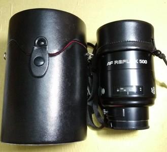 美能达af500mm F8 折返镜头