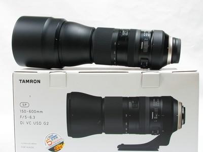腾龙SP 150-600mm f/5-6.3 Di G2 A022尼康口95新行货原包装
