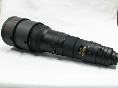 尼康 AF-S 600mm f/4G ED VR防抖拍鸟大炮镜头99新