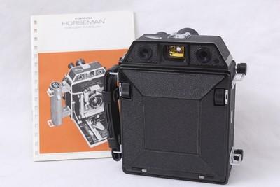 骑士HORSEMAN 985 黑色典藏级 6x9双轨技术相机 120相机