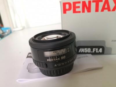 宾得 FA50mm f/1.4 FA50 50/1.4 宾得50/1.4成色不错~