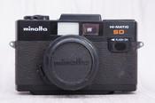 二手日本进口 美能达HI-MATIC SD 135胶片单反相机 0437