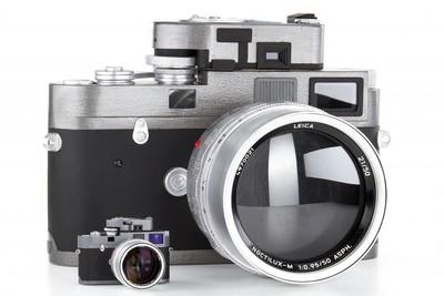 全球仅生产了5套 徕卡 Leica M-A + 50/0.95 模型!