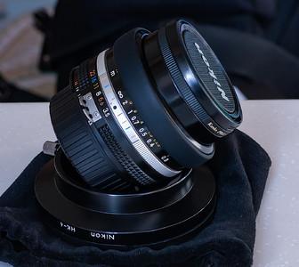 尼康 AIS 20/3.5 全幅手动广角镜头 97新