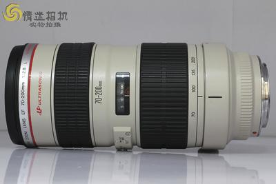 佳能70-200/2.8L USM(小白)(NO:5242)*