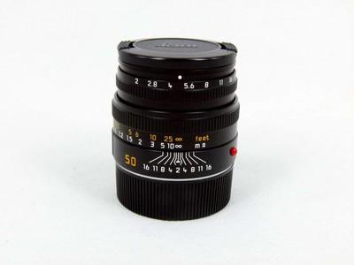 华瑞摄影器材-徕卡Leica Summicron-M 50/2 6BIT