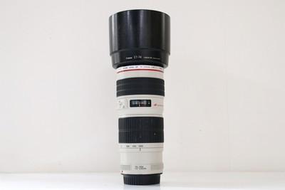 92新二手 Canon佳能 70-200/4 L USM 变焦镜头 回收 398606成