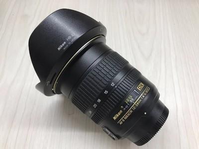 《天津天好》相机行 99新 尼康12-24/4G DX 镜头
