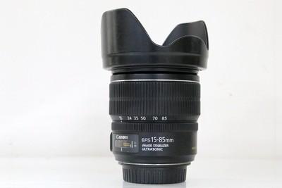 95新二手Canon佳能 15-85/3.5-5.6 IS USM变焦镜头 500716成
