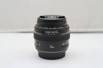 95新二手 Canon佳能 50/1.4 标准定焦镜头回收 089759深