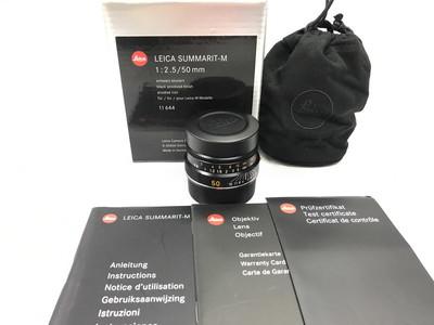 leica 徕卡 50/2.5 莱卡M 50mm f2.5 镜头带6bit