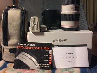 99新  佳能 EF 70-200mm f/2.8L IS USM(小白IS)