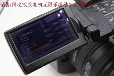 新到 9成新 Sony/索尼 HVR-Z5C 高清摄像机 可交换 编号0612