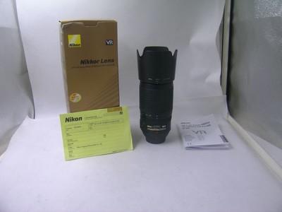 出售 95新 尼康 VR 70-300mm f/4.5-5.6 包装齐全 请看图片