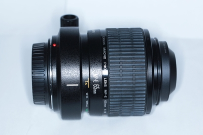 佳能MP-E 65/2.8 1-5X微距镜头