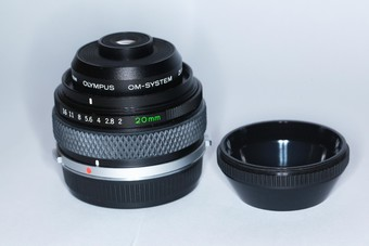 奥林巴斯OM-System Zuiko 20mm