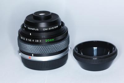 奥林巴斯OM 20mm f/2.0 Auto-macro 超微镜头等全套微距系统