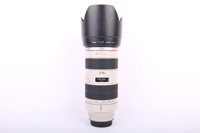 95新二手Canon佳能 70-200/2.8 L 小白变焦镜头回收 246458京