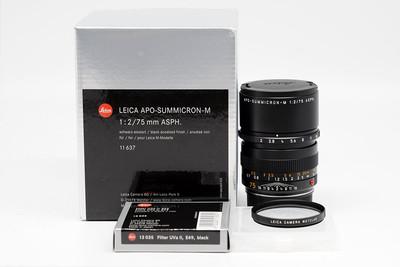 徕卡apo-summicron-m 75/2 asph6-bitHK7950X