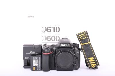 93新二手Nikon尼康 D610 单机 快门32762次 回收 012718京