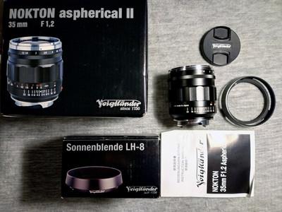 福伦达 Nokton 35mm f/1.2 Aspherical VM II