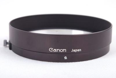 佳能 50/0.95镜头专用遮光罩 黑色金属光罩#jp21032