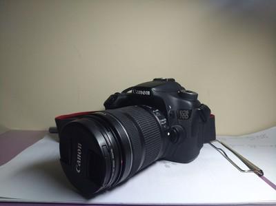 转自用佳能70D套机;镜头EF-S 18-135mm;京东购入
