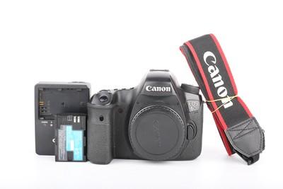 90新二手Canon佳能 6D 单机 高端单反相机 回收 SN1224京