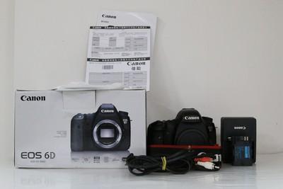 95新二手Canon佳能 6D 单机 高端单反相机 回收 005037成