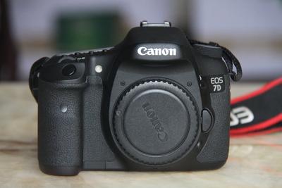 自用佳能EOS 7D单反相机