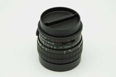 哈苏 神镜 HASSELBLAD CFi 100/3.5 超美品 横平竖直