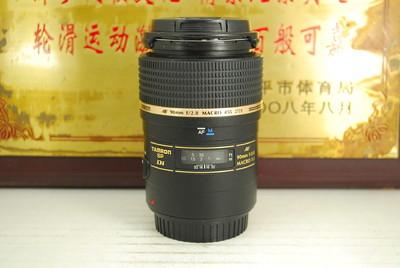 佳能口 腾龙 90mm F2.8 MACRO 272E 单反镜头 专业微距 定焦人像