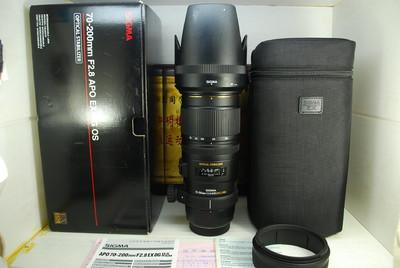 97新 索尼a口 适马 70-200 F2.8 OS HSM 小黑五代单反镜头 防抖