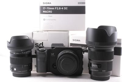 98/适马 sd Quattro+17-70/2.8-4.5+50mm F1.4 ART (带包装 )