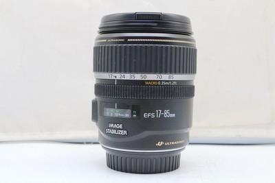 95新二手Canon佳能 17-85/4-5.6 IS USM单反镜头回收 904617武