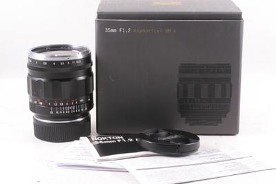 福伦达 Nokton 35mm f/1.2  VM II 第二代 (全套包装) 徕卡M口
