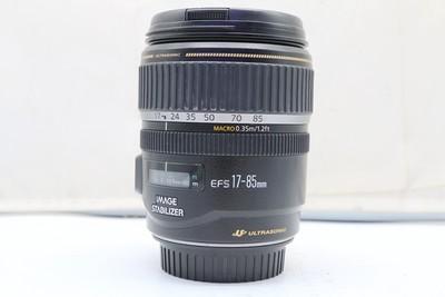 95新二手Canon佳能 17-85/4-5.6 IS USM单反镜头回收 118105武