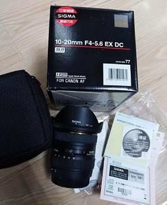 适马 10-20mm f/4.0-5.6 EX DC HSM(佳能卡口)超广角镜头!